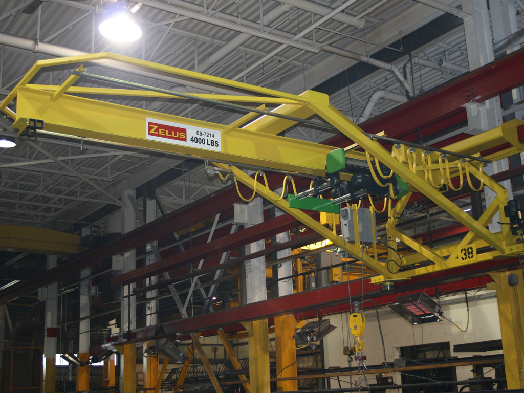Jib Crane Maintenance : Ovehead crane sales and service