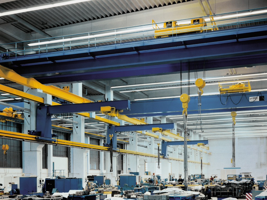 Top Running Overhead Crane with Jibs