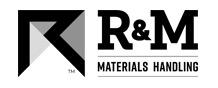 R&M Logo black and white