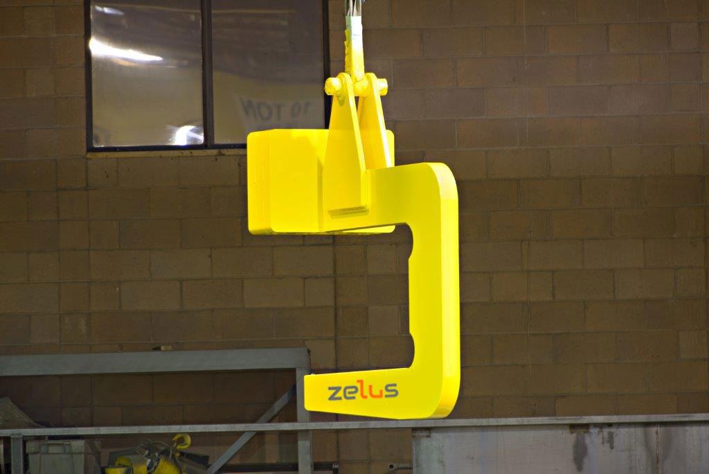 Crane coil hook