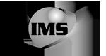 IMS logo black and white