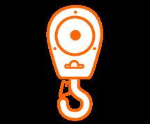 Hook block illustration