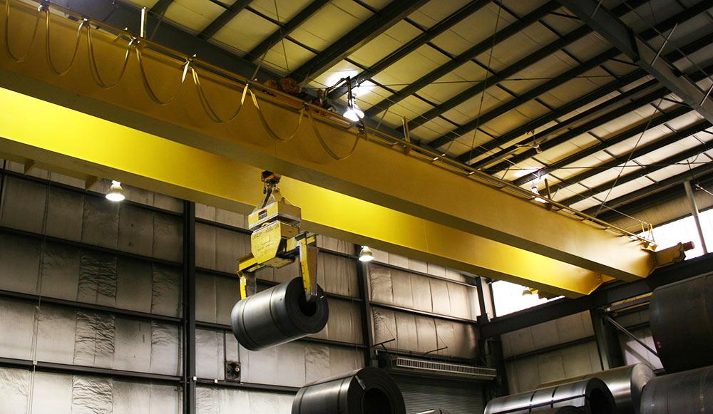 Zelus top running crane
